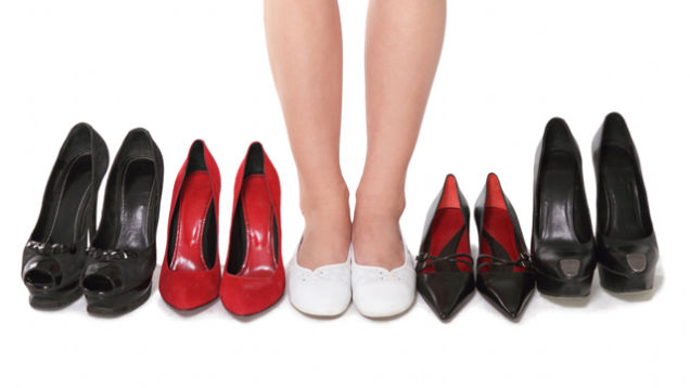 why dating men is just like trying on shoes