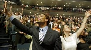 Church services in the black community