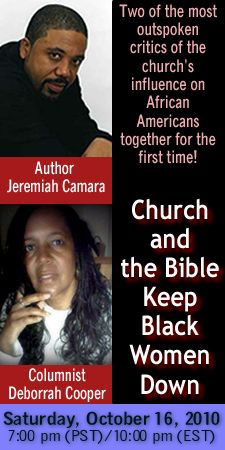 Jeremiah Camara author of Holy Lockdown and Deborrah Cooper discuss Christianity