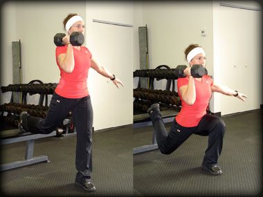 One legged Bulgarian split squat exercise improves glutes and legs