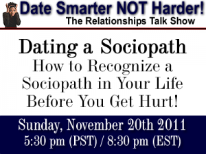 Sociopath signs dating to relationship