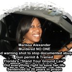 Trayvon Martin, Marissa Alexander and Florida's Stand Your Ground Laws
