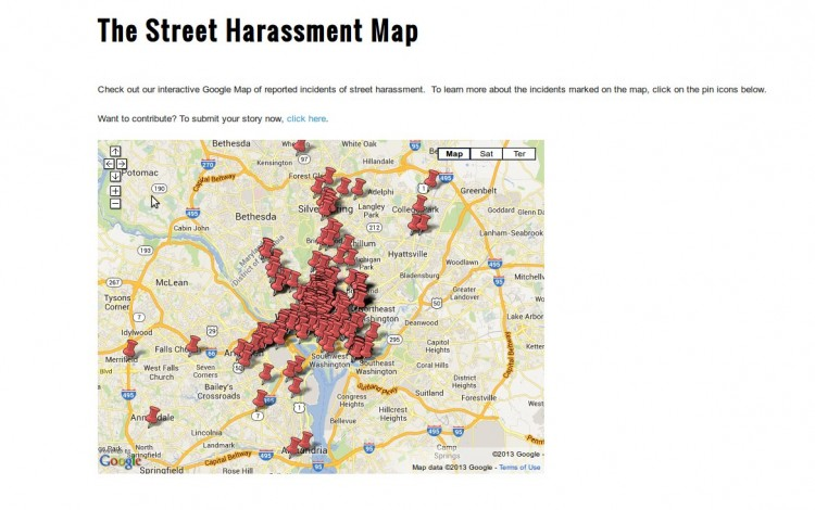 street harassment map