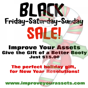 Black Friday 50% off discount Improve Your Assets ebook