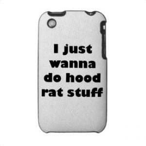 phone hood rat