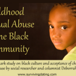 landmark study on childhood sexual abuse in the black community; child molesting statistics