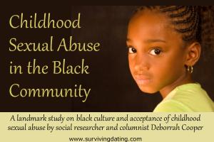 landmark study on childhood sexual abuse in the black community; child molesting statistics