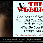 webinar with dating expert Deborrah Cooper