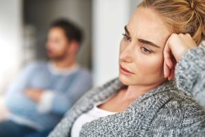 Unhappy after settling for a man