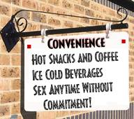 relationships of convenience are relationships without commitment ties or obligations