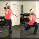 One legged Bulgarian split squat exercise improves glutes and legs