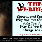 webinar with dating expert Deborrah Cooper